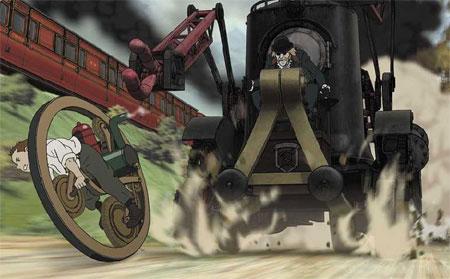 Anime Steampunk: Steamboy Steamboy