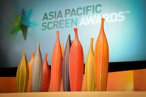 Asia Pacific Screen Awards held at QPAC in Brisbane.
