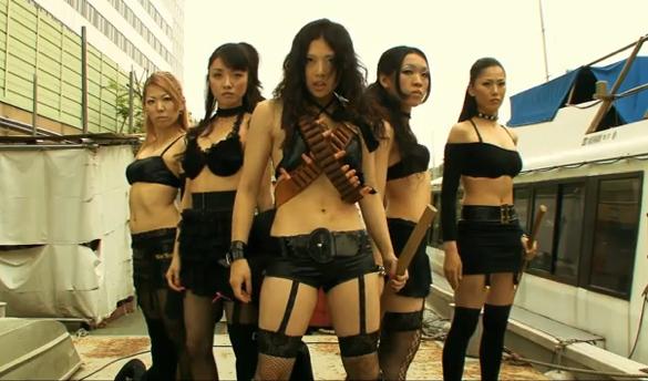 yakuza busting girls